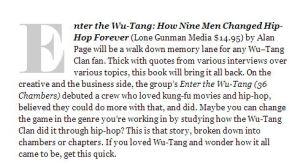 Ebony Wu book review